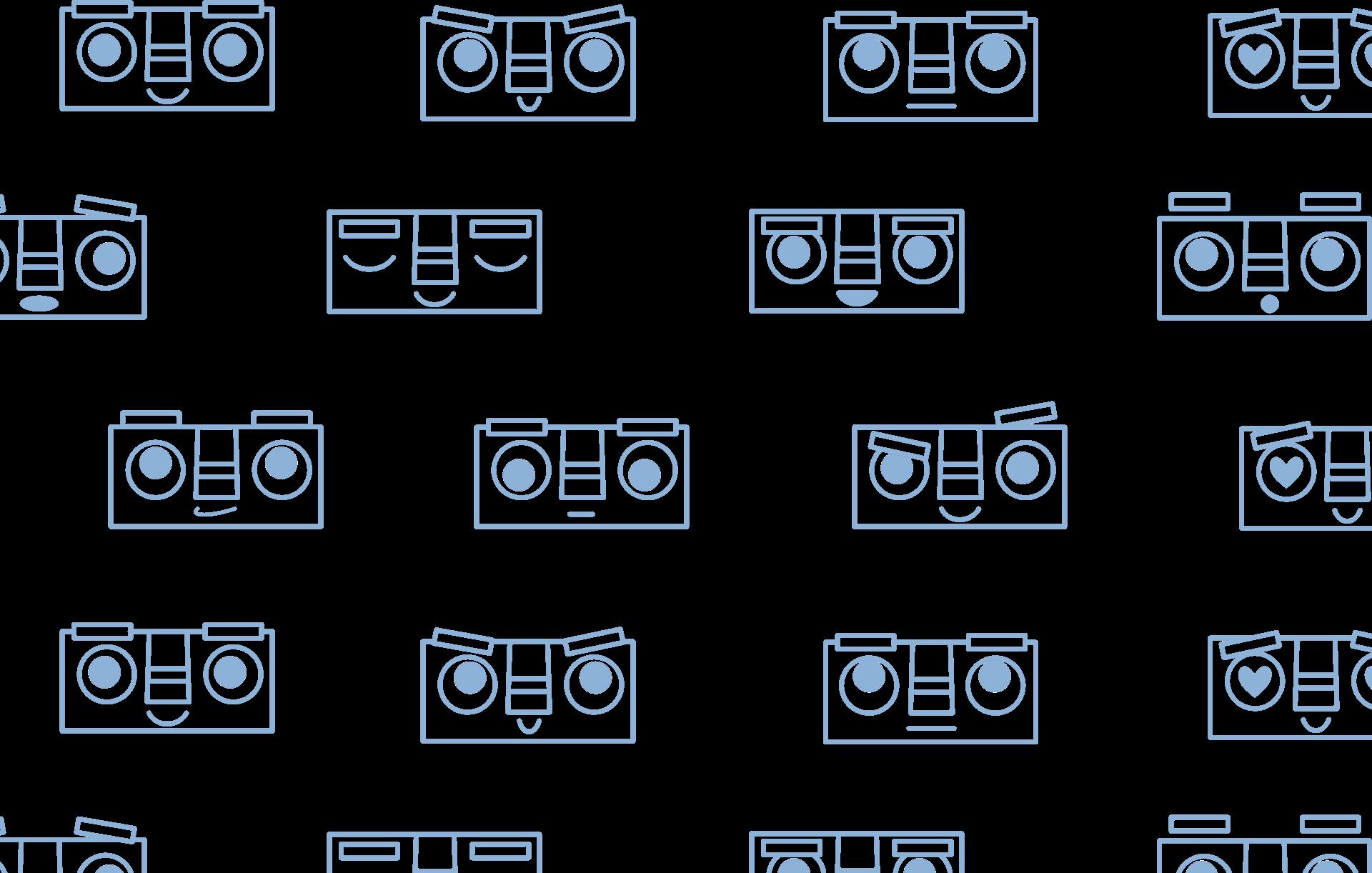 Arkatechture Botmoji Background Tile-1