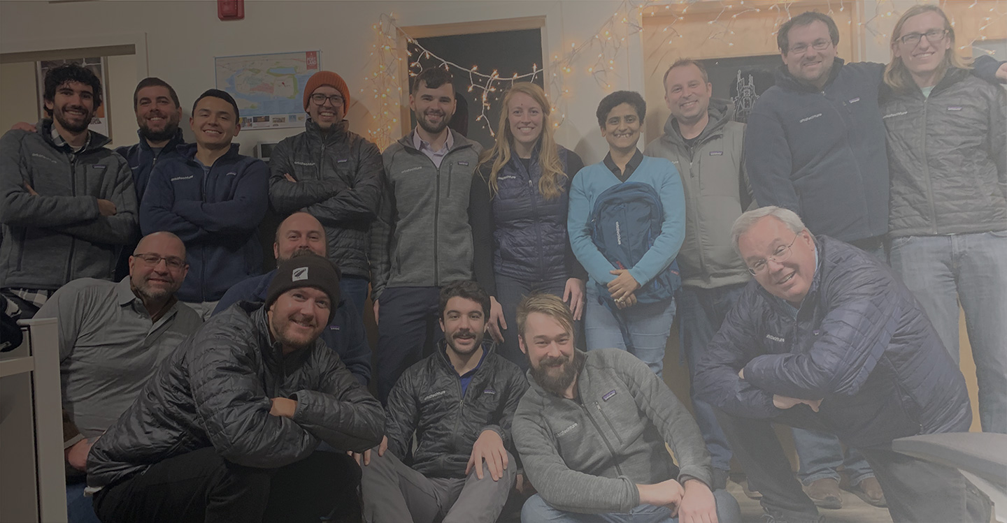 Arkatechture Company Team Photo 2019 Patagonia Gear