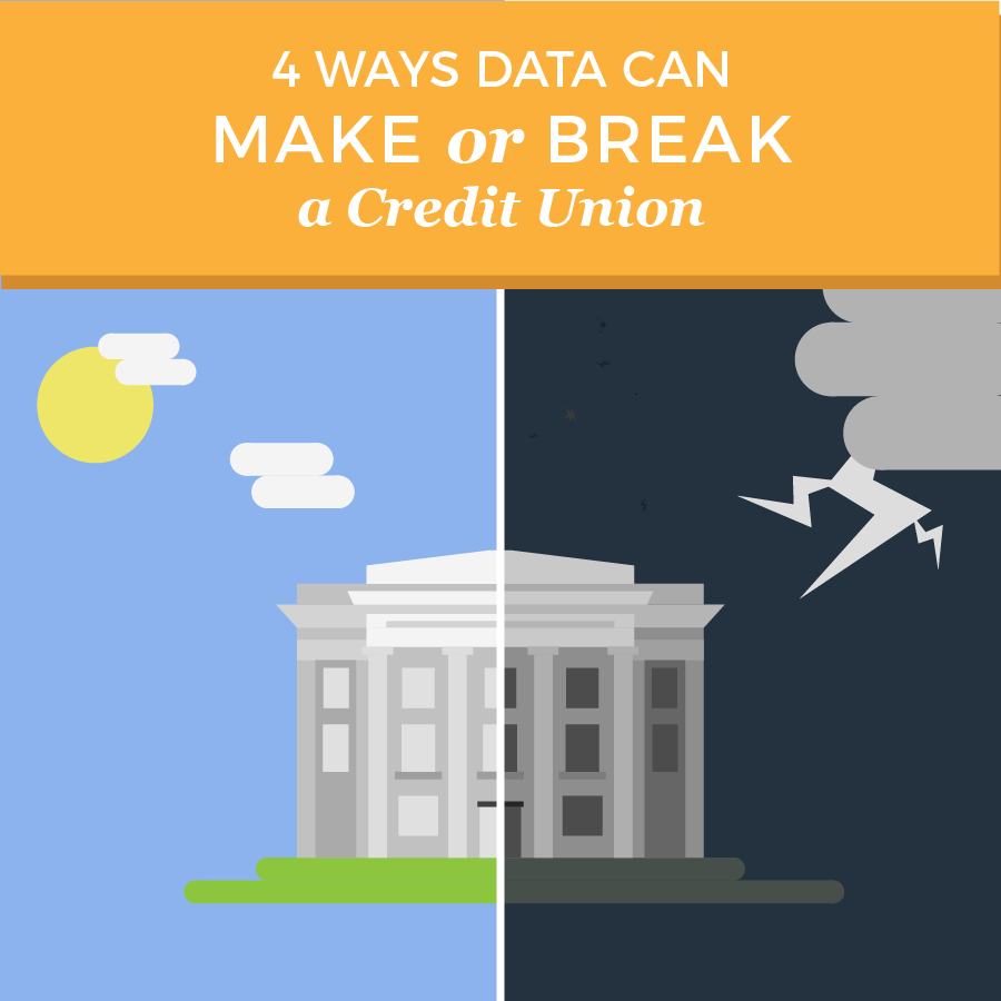 4 ways data can make or break a credit union