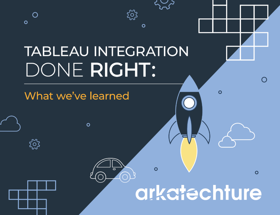 Tableau Integration Done Right