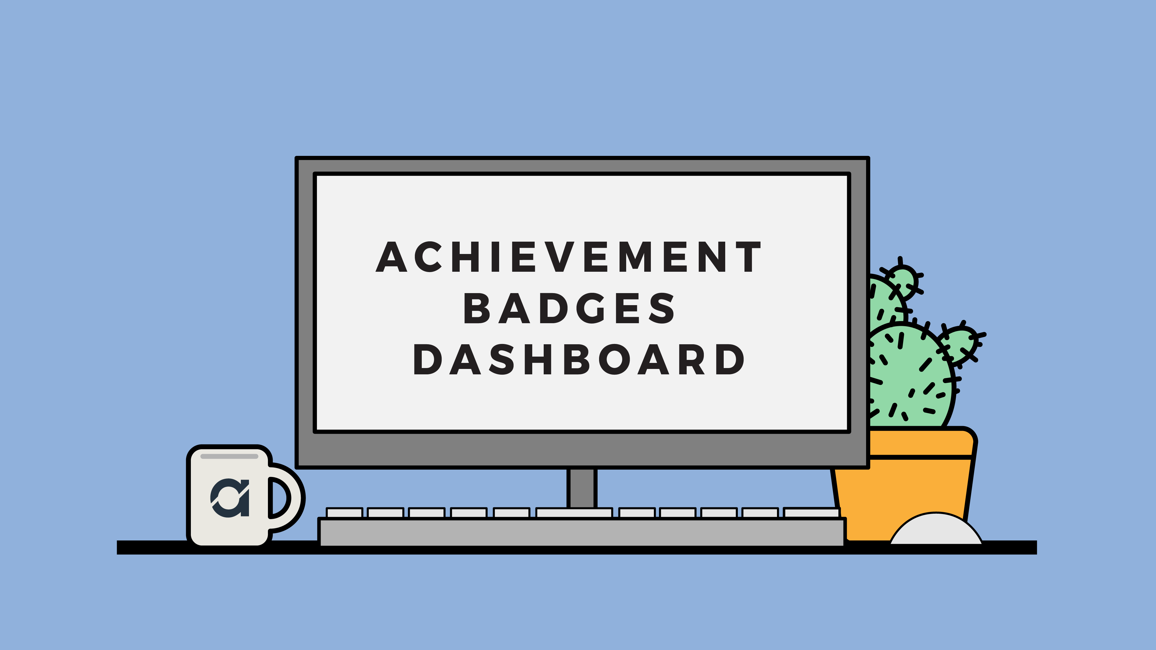 achievement badges dashboard