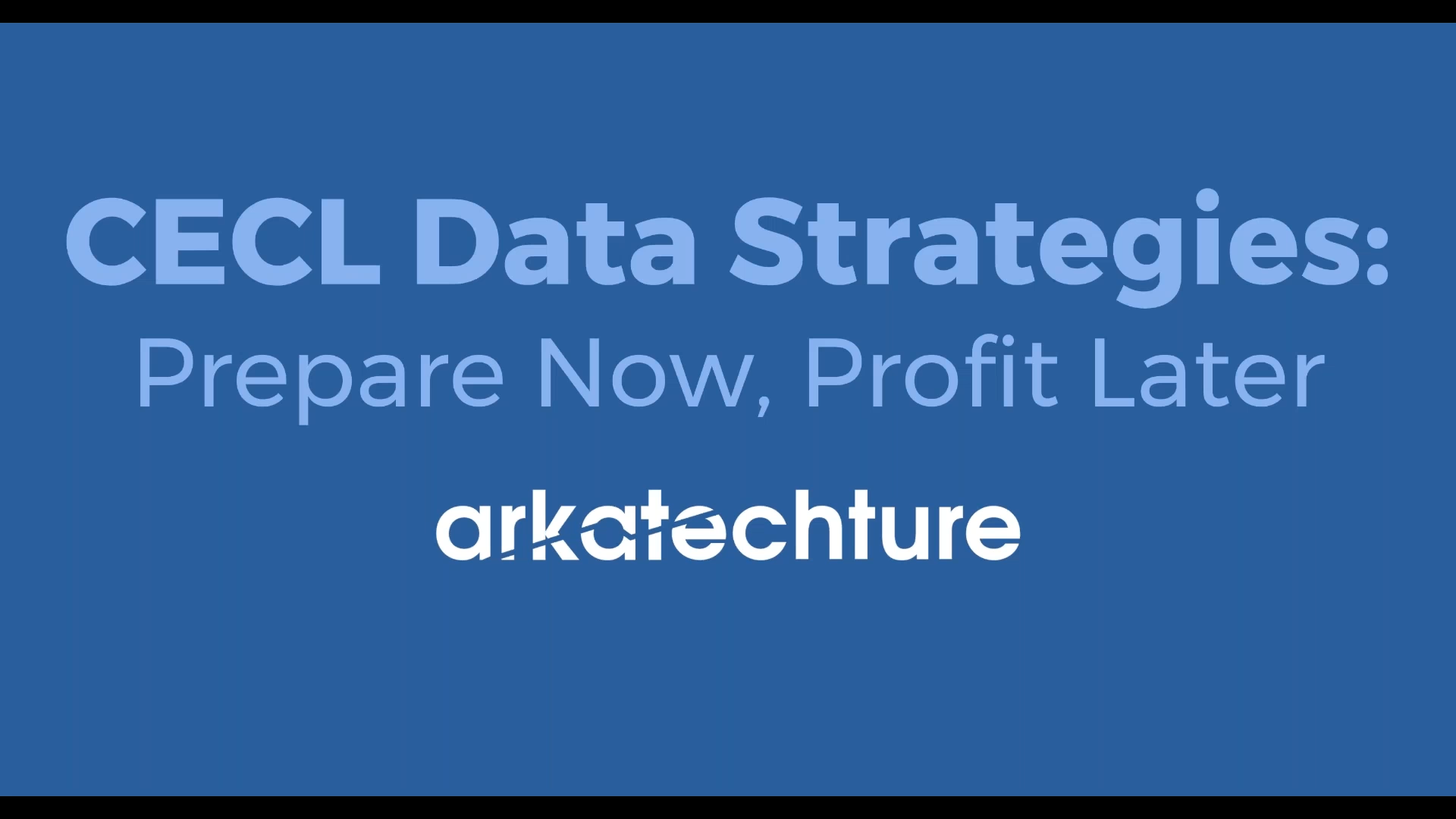 cecl data strategies