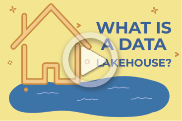 What is a data lakehouse play button