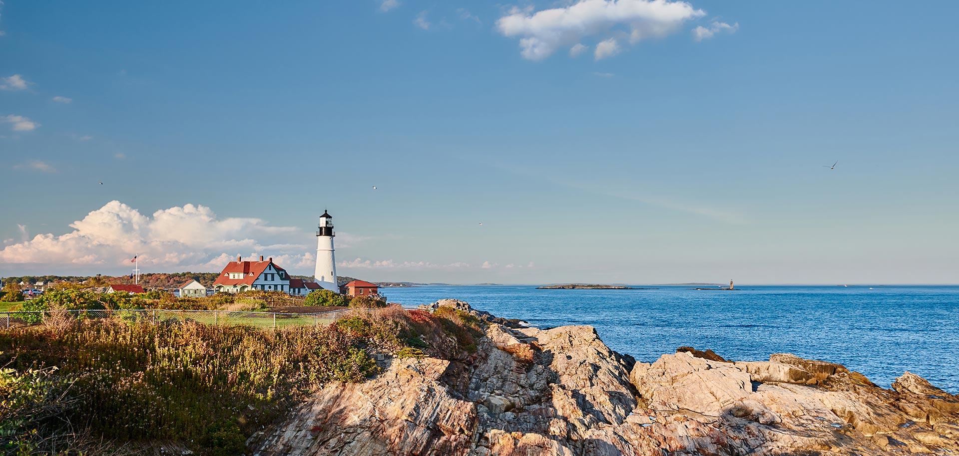 portland headlight lighthouse maine - arkatechture sustainability