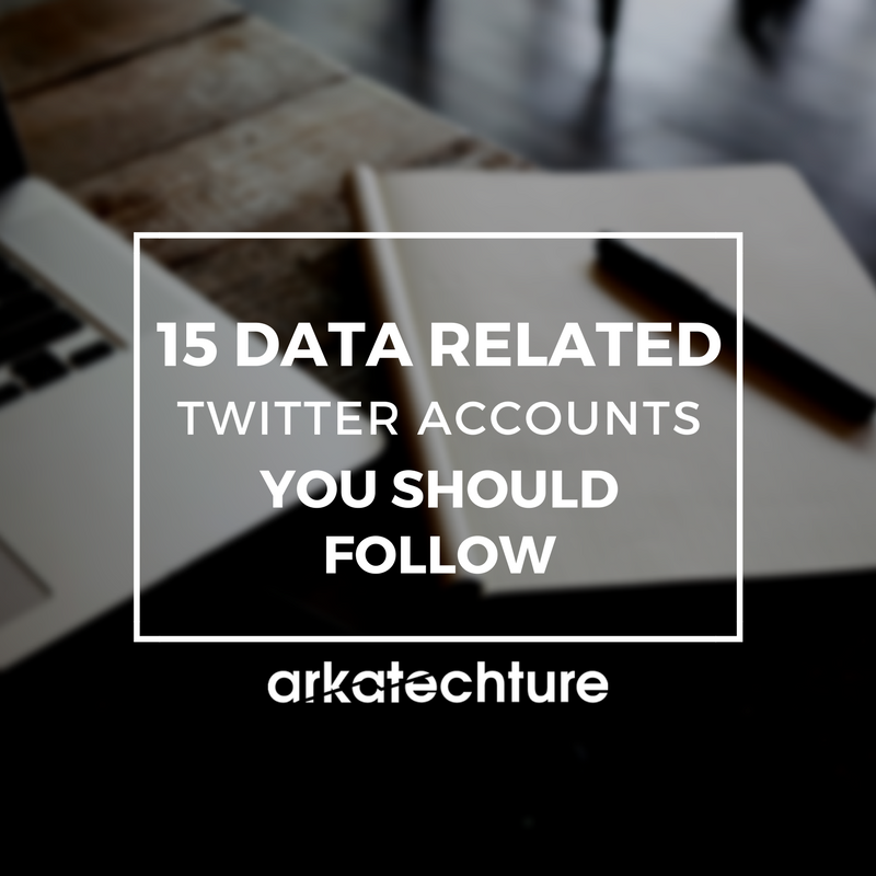 15 Data Related Twitter Accounts You Should Follow
