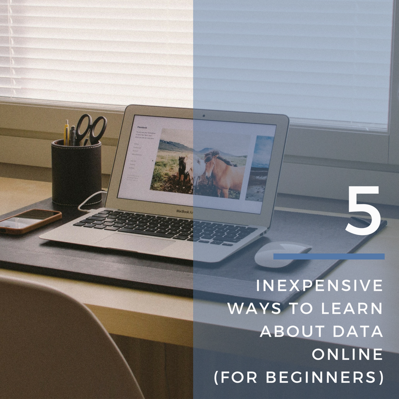 5 Inexpensive Ways To Learn About Data Online (For Beginners)