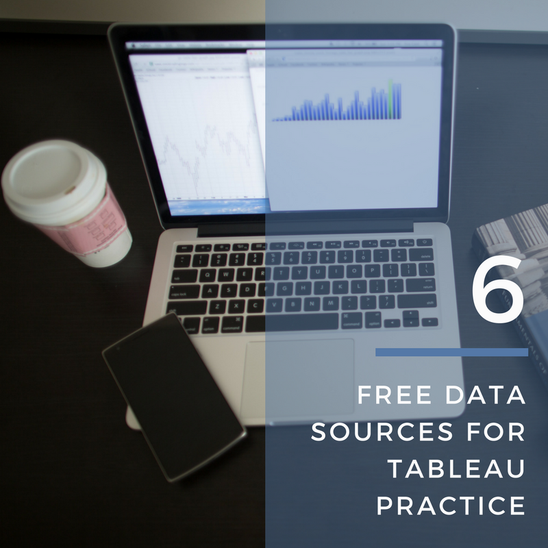 6 Free Data Sources for Tableau Practice