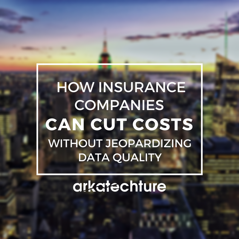 How Insurance Companies Can Cut Costs Without Jeopardizing Data Quality