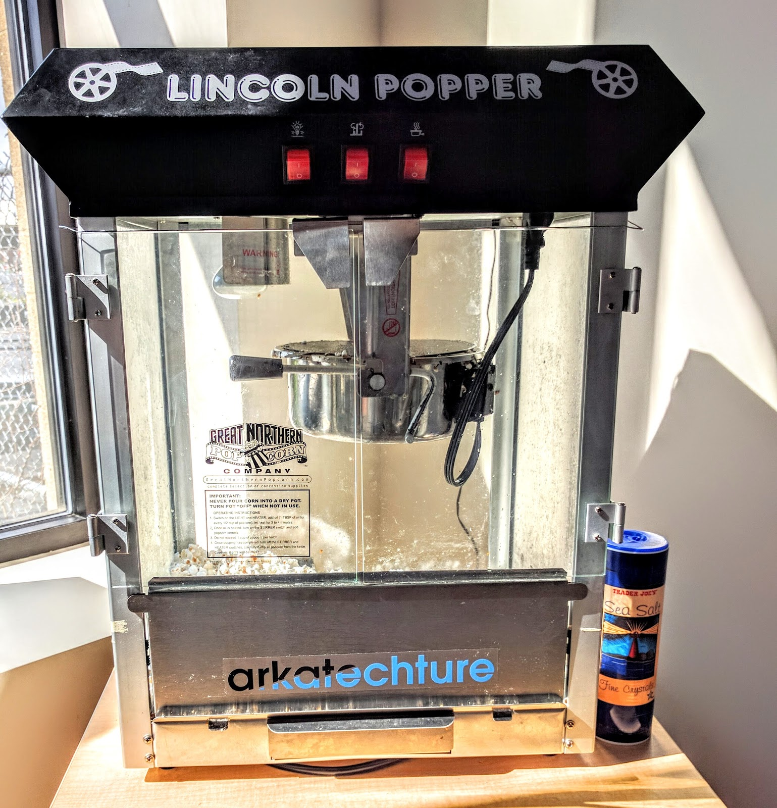 Office Intelligence: Popcorn Maker (Part One)