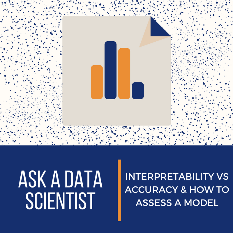 Ask A Data Scientist: Pulling It All Together: Interpretability vs. Accuracy & How to Assess a Model?