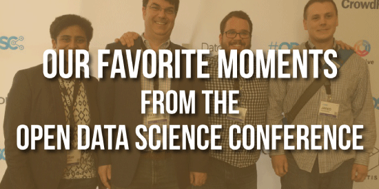 Our Favorite Moments From The Open Data Science Conference
