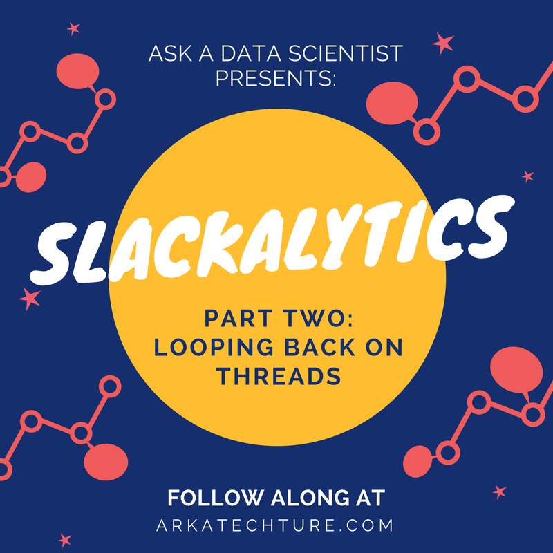 Slackalytics Part Two: Looping Back on Threads