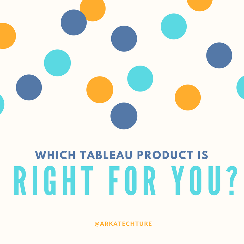 Infographic: Which Tableau Product Is Right For You?