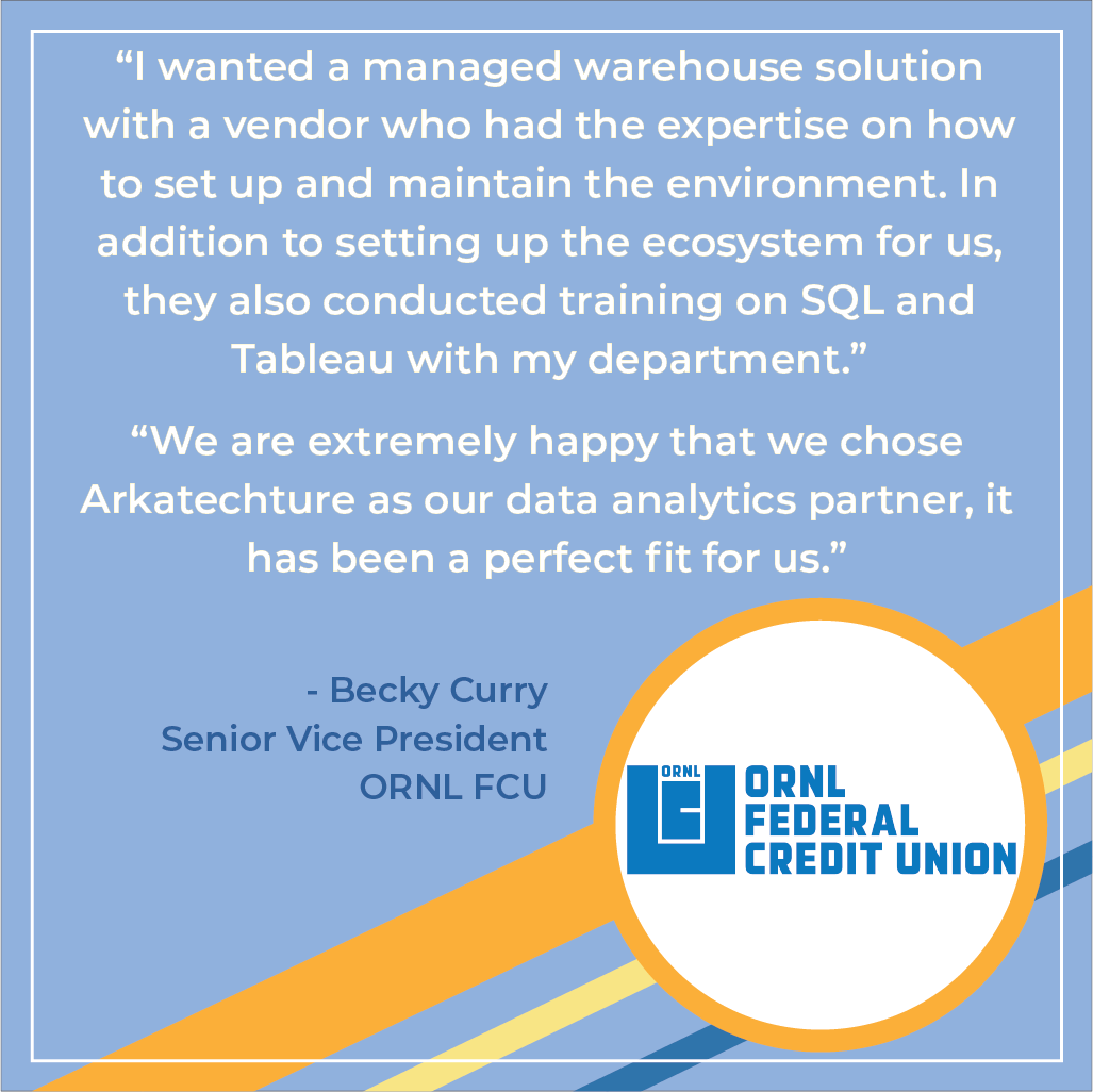 Why Arkalytics was the perfect choice for ORNL FCU
