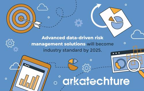 Advanced data-driven risk management solutions will become industry standard by 2025.
